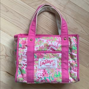 Lilly Pulitzer small original tote